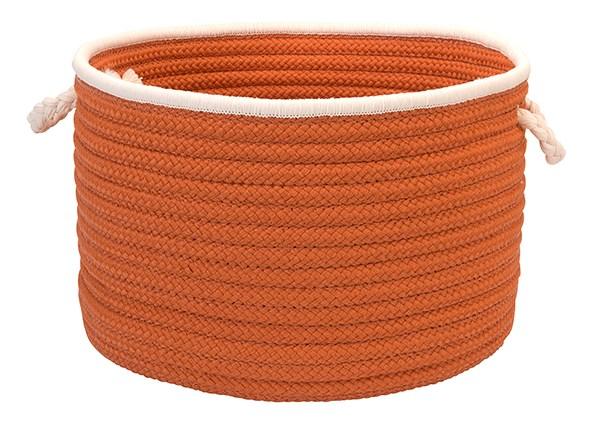 Orange, White (FY-22) Outdoor / Indoor Area Rug