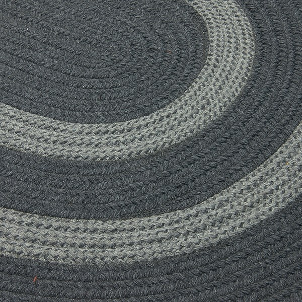 Charcoal, Gray (GW-43) Country Area Rug