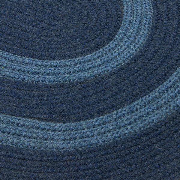 Navy, Light Blue (GW-53) Country Area Rug