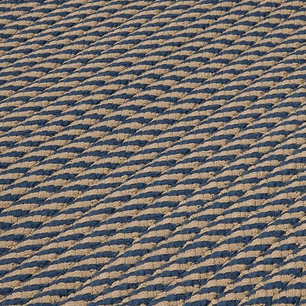 Blue, Beige (IM-53) Outdoor / Indoor Area Rug
