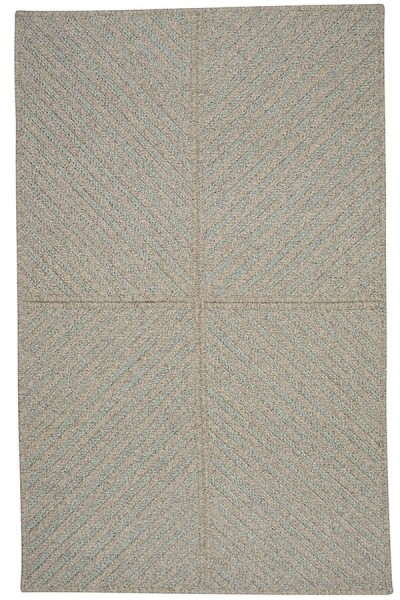 Light Blue, Natural (MX-51) Country Area Rug