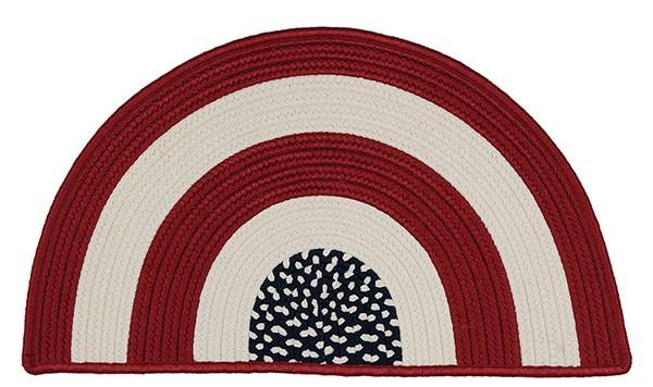 Red, White, Blue (GY00) Novelty / Seasonal / Sports Area Rug