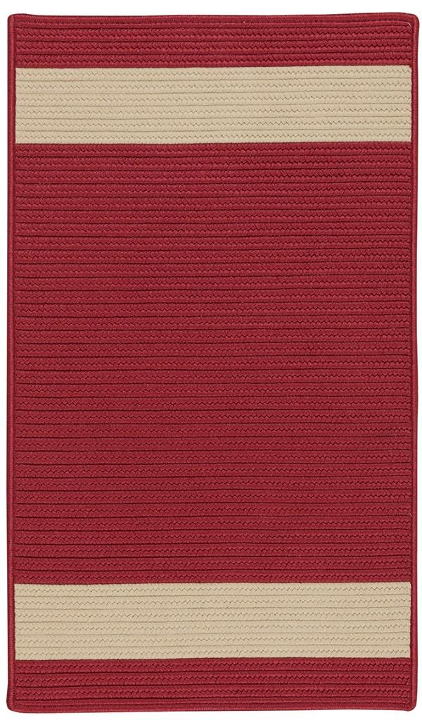 Red, Sand (RU-55) Outdoor / Indoor Area Rug