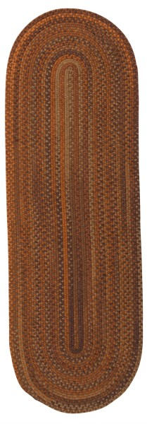 Rust (BA-70) Country Area Rug
