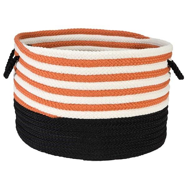 Orange, Black (CW-04) Country Area Rug