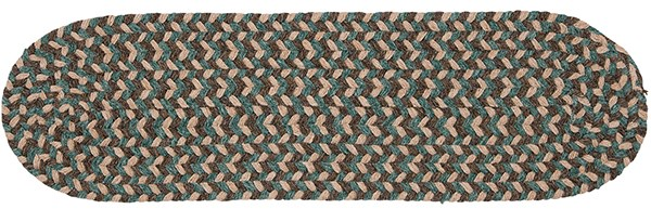 Driftwood Teal (BC-54) Country Area Rug
