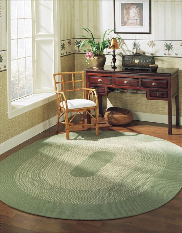 Palm (JK-60) Country Area Rug