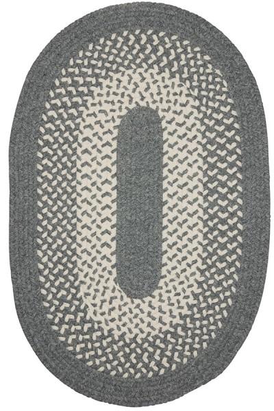 Gray, Natural (JK-40) Country Area Rug