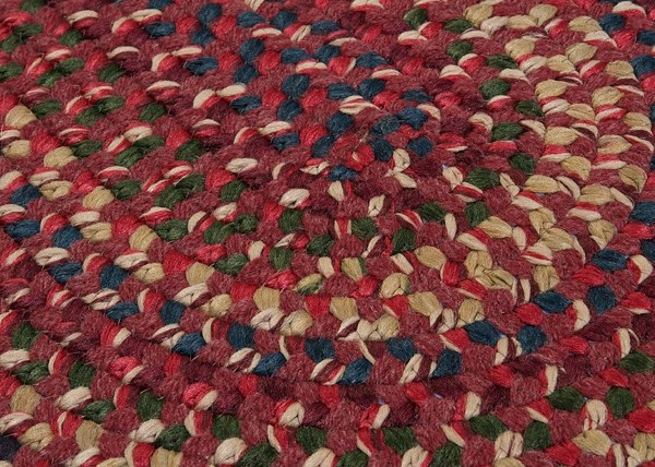 Burnt Brick (MN-87) Country Area Rug