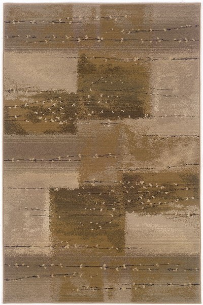 Tan, Beige Transitional Area Rug