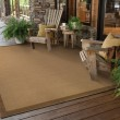 Product Image of Beige, Brown (525D7) Outdoor / Indoor Area Rug