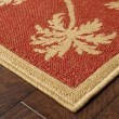 Product Image of Beige, Red (606C8) Bordered Area Rug