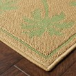 Product Image of Beige, Green (606G6) Bordered Area Rug