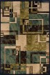 Product Image of Beige, Blue Contemporary / Modern Area Rug