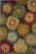 Product Image of Brown, Blue Floral / Botanical Area Rug