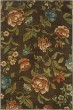 Product Image of Brown, Green Floral / Botanical Area Rug
