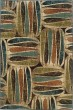 Product Image of Ivory, Brown Contemporary / Modern Area Rug