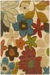 Product Image of Ivory, Gold Floral / Botanical Area Rug