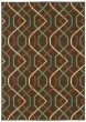 Product Image of Brown, Ivory (896N) Contemporary / Modern Area Rug