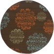 Product Image of Brown, Blue Transitional Area Rug