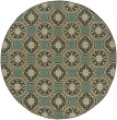Product Image of Blue, Ivory (8323L) Moroccan Area Rug