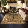 Product Image of Green, Ivory Traditional / Oriental Area Rug