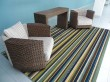 Product Image of Blue, Brown Outdoor / Indoor Area Rug