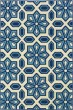 Product Image of Ivory, Blue Moroccan Area Rug