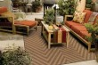 Product Image of Tan Outdoor / Indoor Area Rug