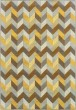 Product Image of Grey, Blue, Gold (X) Contemporary / Modern Area Rug