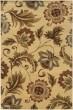 Product Image of Beige, Gold (W) Floral / Botanical Area Rug