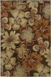 Product Image of Brown, Gold Contemporary / Modern Area Rug