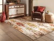 Product Image of Ivory, Blue, Green Ikat Area Rug
