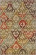 Product Image of Beige, Green, Blue Ikat Area Rug