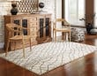 Product Image of Ivory, Brown Transitional Area Rug