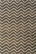 Product Image of Brown, Ivory (D) Chevron Area Rug