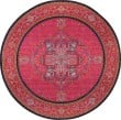 Product Image of Pink, Navy (S) Traditional / Oriental Area Rug
