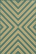Product Image of Contemporary / Modern Blue, Green (A) Area Rug