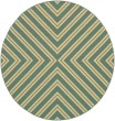 Product Image of Blue, Green (A) Contemporary / Modern Area Rug