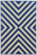 Product Image of Contemporary / Modern Navy, Green (L) Area Rug
