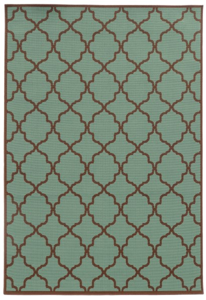 Grey, Brown (A) Contemporary / Modern Area Rug