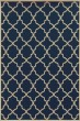 Product Image of Moroccan Navy, Ivory (L) Area Rug