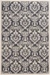 Product Image of Charcoal, Ivory Damask Area Rug