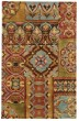Product Image of Rust Contemporary / Modern Area Rug
