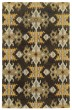 Product Image of Black, Gold Transitional Area Rug