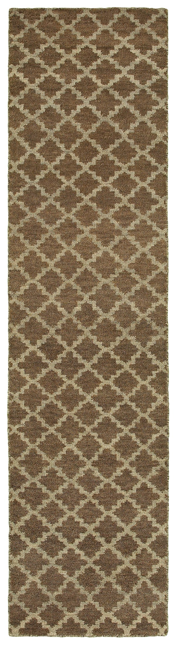 Brown, Blue Transitional Area Rug