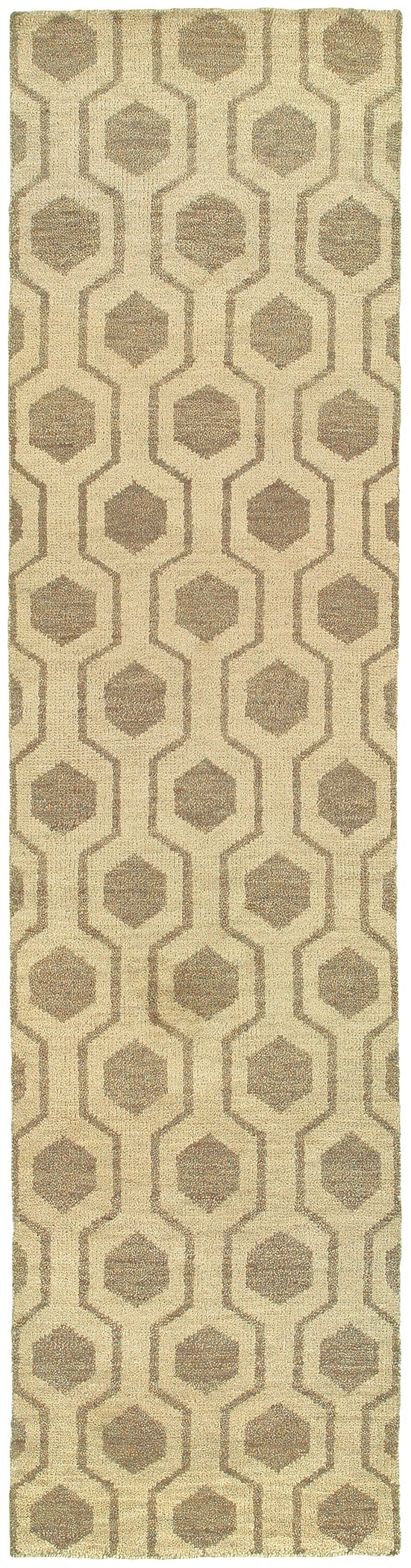 Beige, Stone Transitional Area Rug