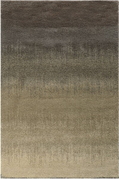 Grey, Beige Transitional Area Rug