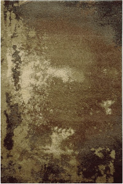 Tan, Grey Abstract Area Rug
