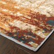 Product Image of Blue, Red Abstract Area Rug